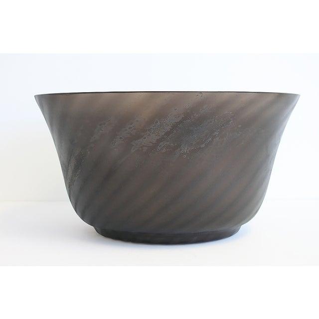 Cenedese Murano Scavo Glass Bowl - Image 5 of 10