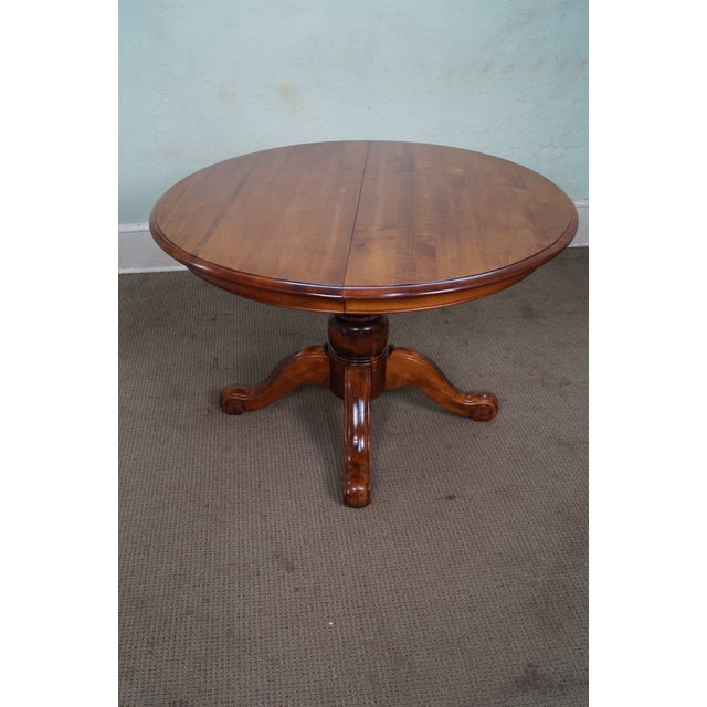 Ethan Allen New Country Coffee Table: Ethan Allen Country Crossings Round Pedestal Dining Table