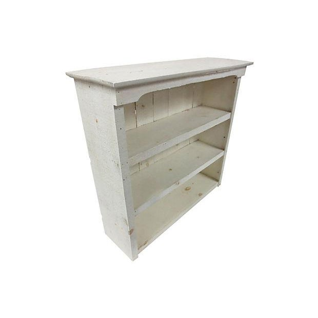 Image of Rough-Hewn White Bookcase