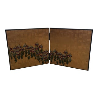 Small Decorative Asian Table Screen