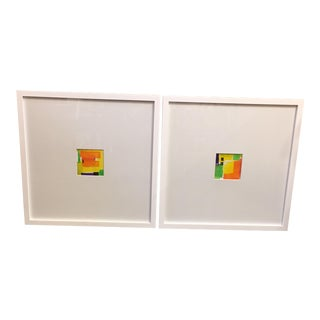 """Colorform"" Original Paintings - A Pair"