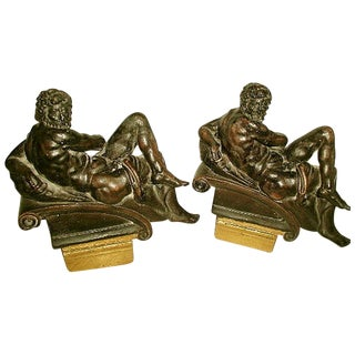 Italian Neoclassical Bookends - Pair