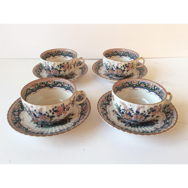 "Booths ""Old Dutch"" Cup & Saucers - Set of 4 - Image 2 of 11"