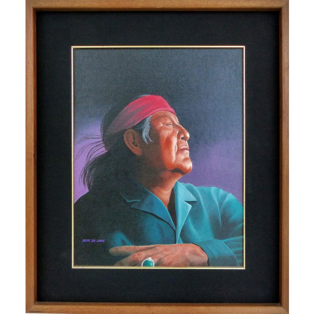 Southwestern Portrait by Jeff St. John - Image 1 of 10