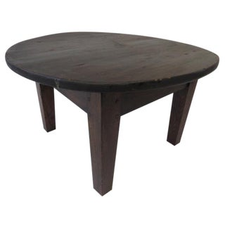1930s Rustic Pine Coffee Table