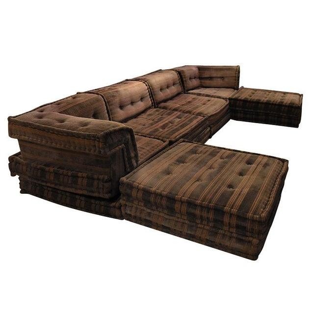 Roche bobois vintage 16 piece mah jong sectional chairish - Roche bobois mah jong sofa ...