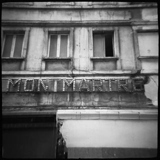 """Montmartre"" Black & White Photograph"