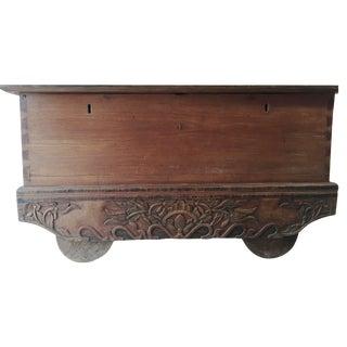 Antique Indonesian  Trunk