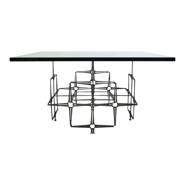 Trimark Mid-Century Modern Nail Brutalist Coffee Table - Image 1 of 11