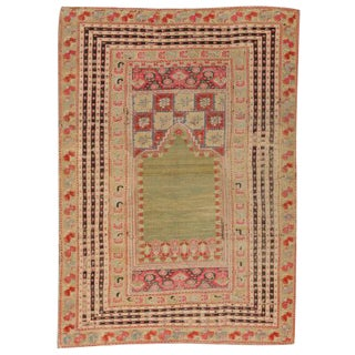 Antique 18th Century Turkish Ghiordes Rug
