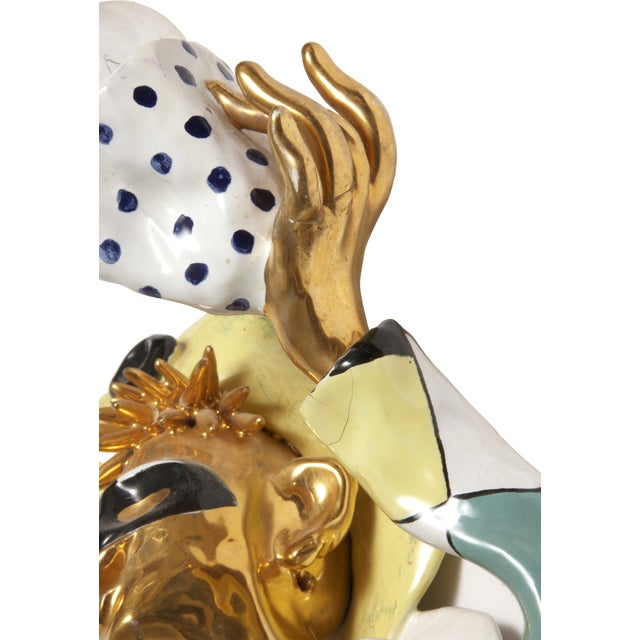 Mid-Century Modern San Polo Harlequin Sconce - Image 2 of 3