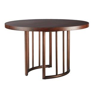 Selamat Designs Mid Century Style Bronze Dining Table