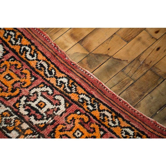 """Red Moroccan Taznakht Rug - 6'7"""" X 8' - Image 8 of 8"""