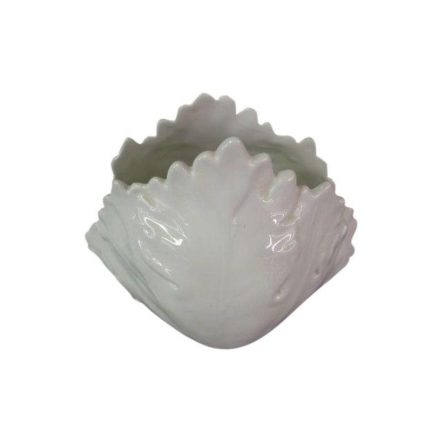 Italian Leaf Vase - Image 1 of 4