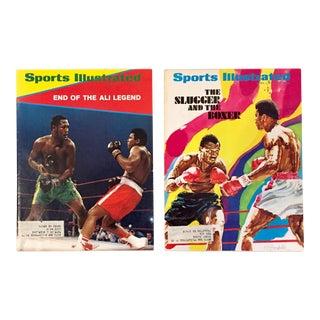 Muhammad Ali Vintage Sports Illustrated Magazines - A Pair