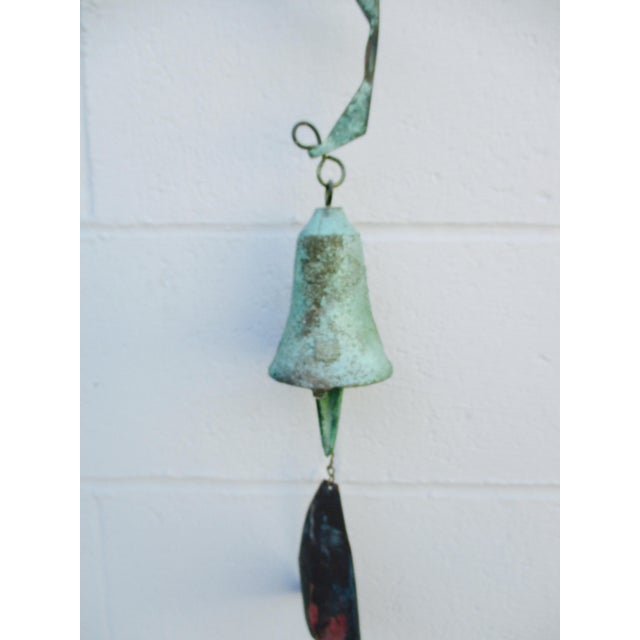 Paolo Soleri Modernist Bronze Wind Bell - Image 5 of 11