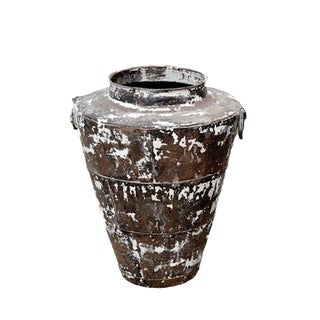 Indian Storage Pot Container
