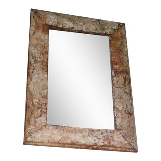 French Bistro Tiled Mirror