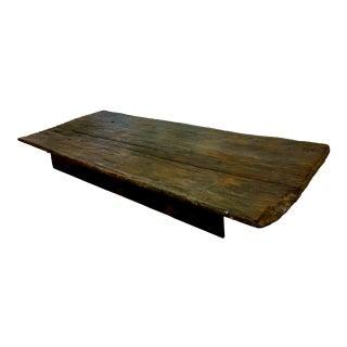 Antique Single Board Low Table