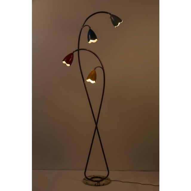 Italian Floor Lamp in the Style of Arredoluce - Image 4 of 10