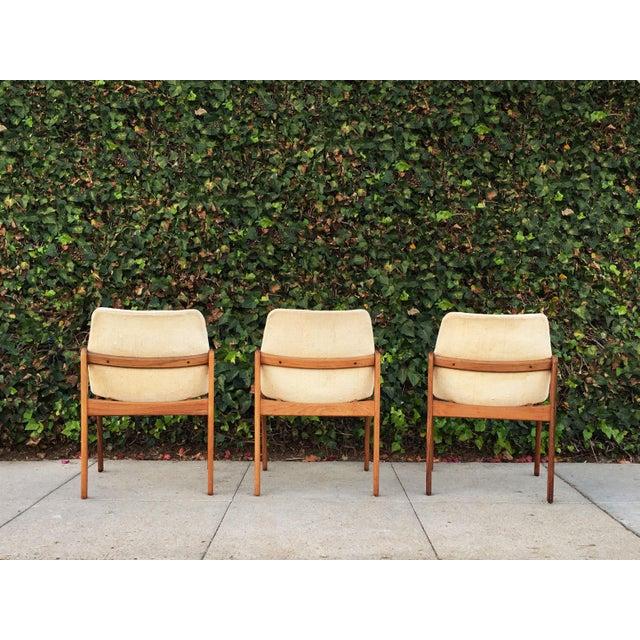 Kai Kristiansen for Korup Stolefabrik Mid-Century Modern Carver Rosewood Dining Chairs - Set of 6 - Image 5 of 7