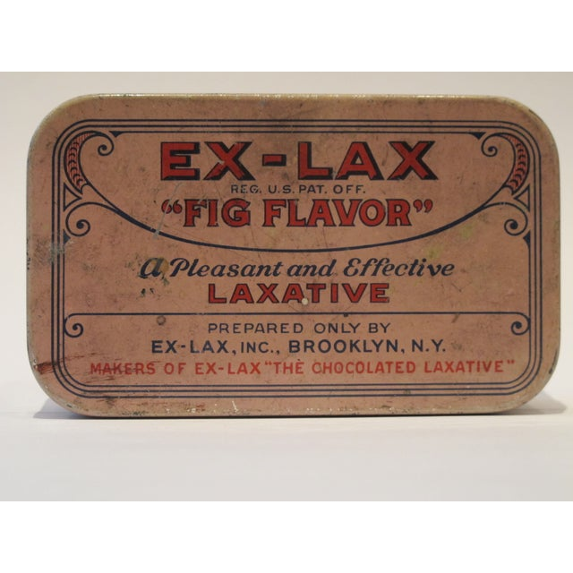 Vintage Ex Lax Tobacco Tin - Image 2 of 5