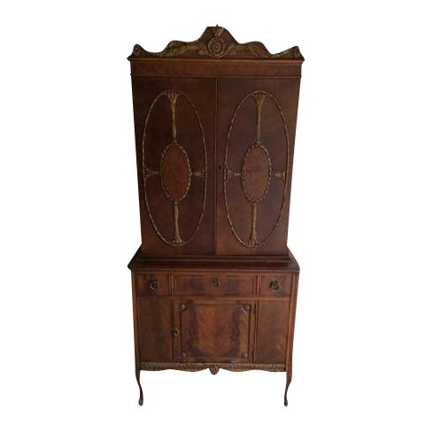 Vintage Batesville China Storage Cabinet - Image 1 of 8