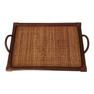 Bamboo & Rattan Tray