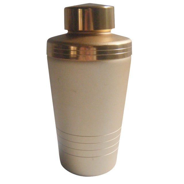 Mirro Mid-Century Gold Cocktail Shaker - Image 1 of 5