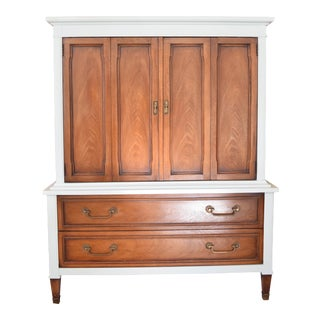 Mint Green Drexel Highboy Dresser