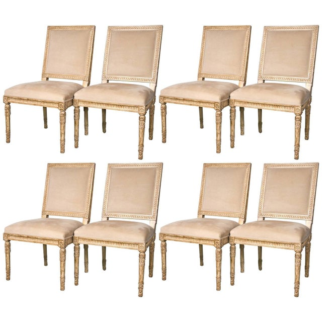 Image of Nancy Corzine Dupuy Dining Chairs - Set of 8