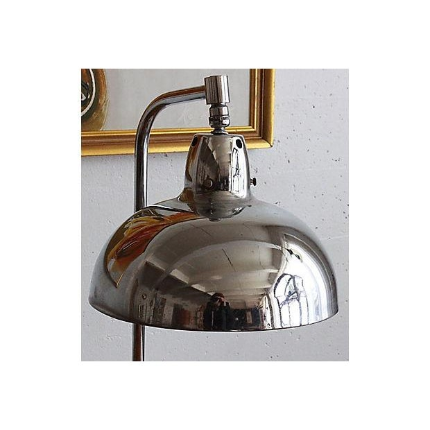 Image of Art Deco Chrome Table Lamp