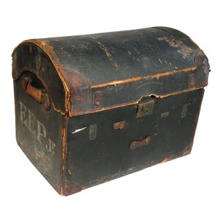 1800's Antique Travel Trunk