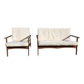 Mid-Century Yugoslavian Lounge Sofa - A Pair