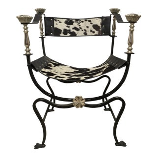 Italian Campaign Style Chair