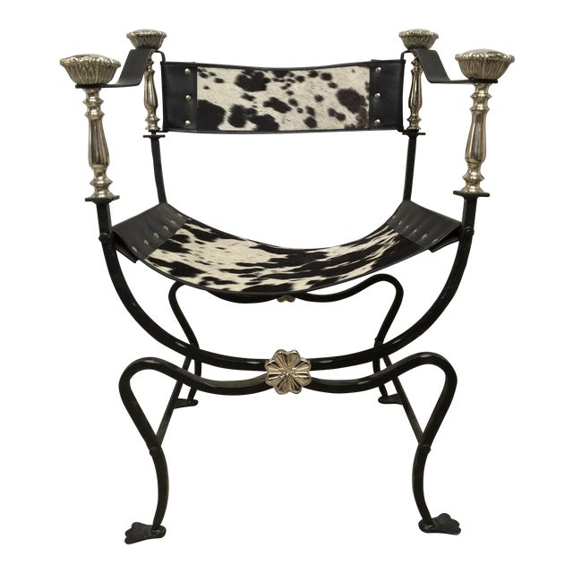 Image of Italian Campaign Style Chair