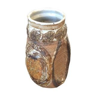 1967 Brutalist Studio Pottery Vase