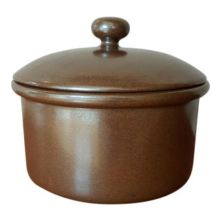 Danmark Stoneware Pot With Lid