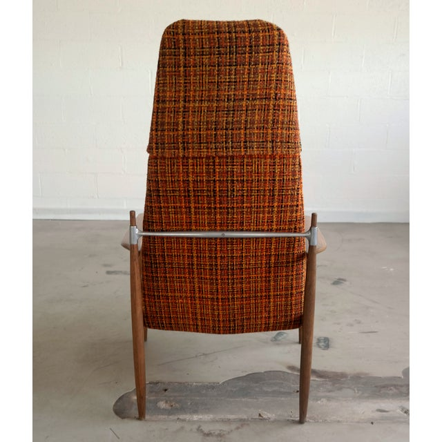 Peter Hvidt High Back Chair - Image 4 of 5