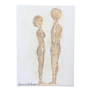 Neutral Nudes, No. 2 Original Acrylic Painting