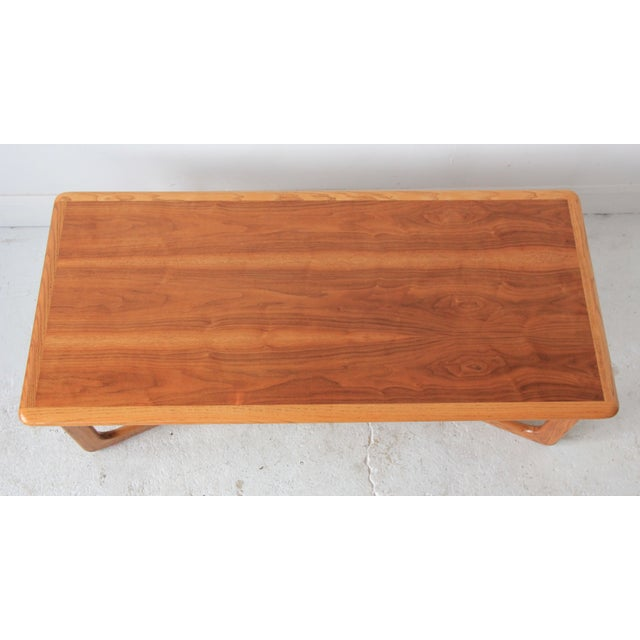 Lane Sculpted X-Base Coffee Table - Image 2 of 5