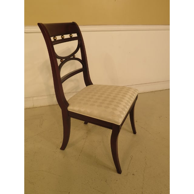Henkel Harris Dining Room Furniture: Henkel Harris Mahogany Regency Dining Chairs
