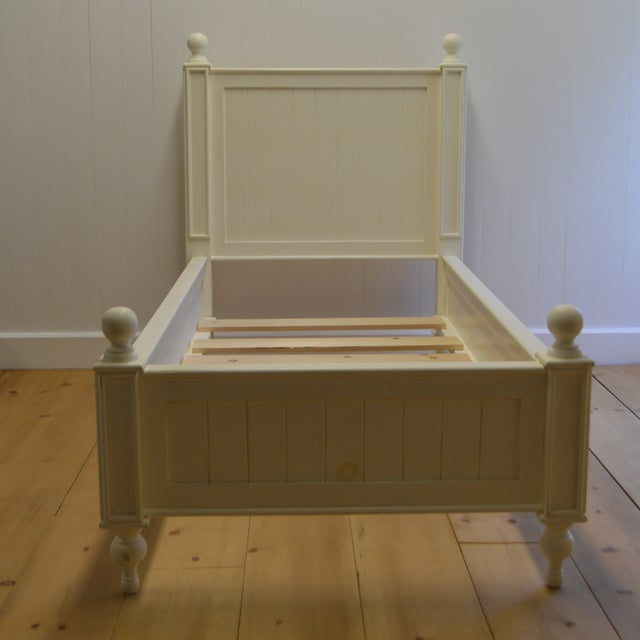 Farmhouse Style Beadboard Bed - Image 2 of 5