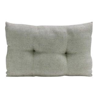 Light Teal Handloom Pillow