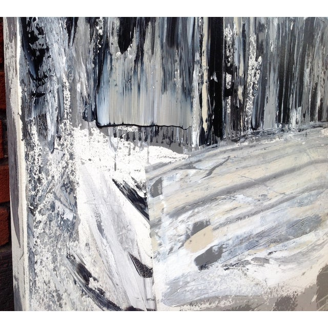 Image of Strada Abstract Acrylic Painting