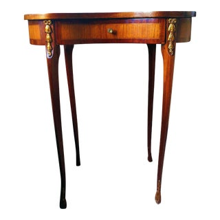 Antique Marquetry Side Table