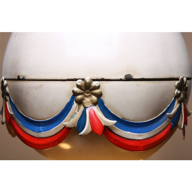 1950's French Hot-Air Balloon Chandelier - Image 5 of 5