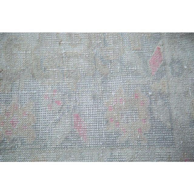 "Distressed Oushak Rug - 4'4"" X 7'1"" - Image 7 of 10"