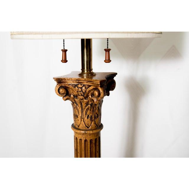 For mad Antique floor lamp column