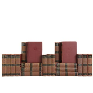 Charles Dickens Bookshelf - Set of 20